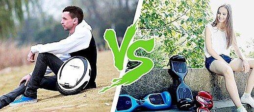 Моноколесо или гироскутер что выбрать?